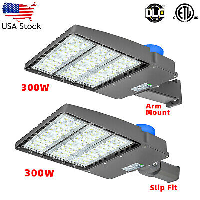 LED Parking Lot Light 300W 150W Module Street  Pole fixture Shoebox Area Light