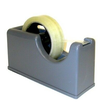 "Heavy Duty Desktop 25mm (1"") Tape Dispenser For Small & Large Core Tapes"