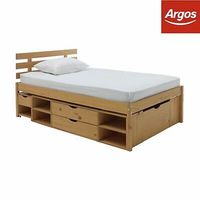 Argos Home Ultimate Storage II Bed Frame - Small Double / Double