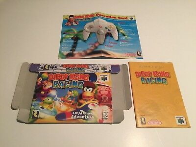 Diddy Kong Racing - Nintendo 64,N64 - Box,Instruction Manual,Operation Card Only