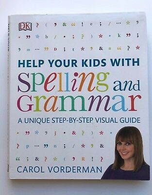 Help Your Kids With Spelling & Grammer Book Unique Visual Guide Ages 5+ Year New