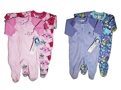 NWT- GERBER- BABY TODDLER GIRL S FOOTED BLANKET SLEEPER - 2-PC SET 402d6a9cb