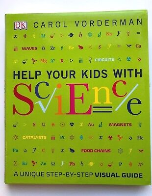 Help Your Kids With Science Book Carol Vorderman Visual Guide Kids Ages 5+ Years