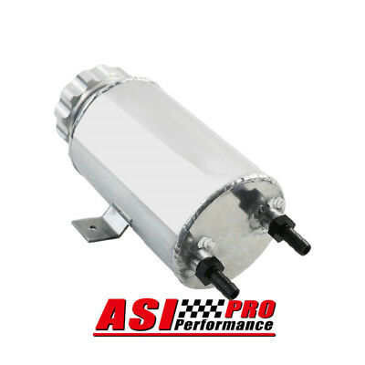 Aluminum Alloy Radiator Overflow Coolant Expansion Tank Silver AUS SHIP PRO