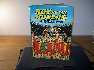 Vintage Annual Roy of the Rovers Annual 1980 - Unclipped Very Good Condition -