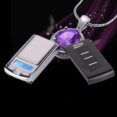 2* 100g/0.01g LCD Digital Pocket Scale Jewelry Gold Gram Balance Weight Scale