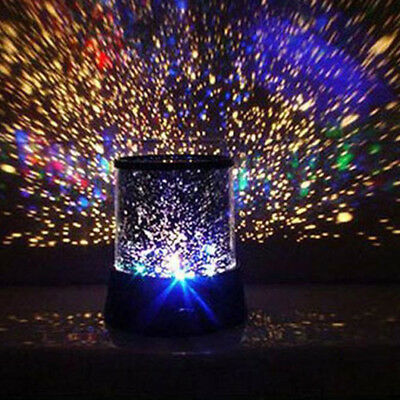 New Romantic Colourful Cosmos Star Master LED Projector Lamp Night Light Gift
