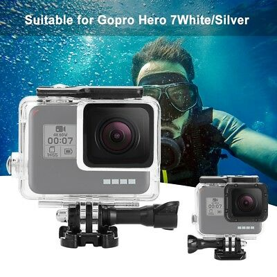45M Diving Waterproof Housing Case for GoPro Hero7 Protective Touch Screen Cover