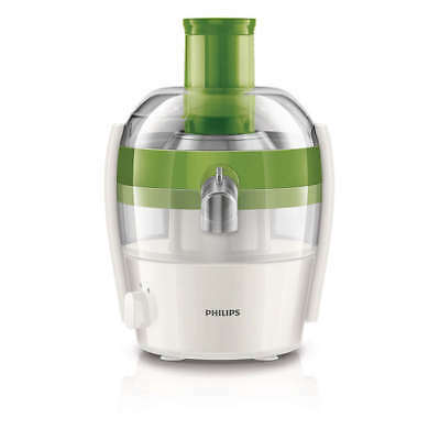 PHILIPS Viva Collection Entsafter HR1832/50 400 W 1,5 Liter Tropf-Stopp