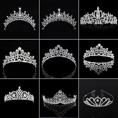 Wedding Prom Bridal Princess Rhinestone Tiara Crown Headband Hair Band Lot Surpr