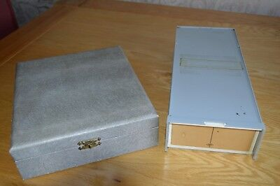 2 Vintage 35mm slide trays