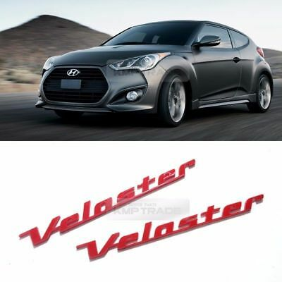 Front Grill Turbo GDi Red Point Emblem Logo Badge for KIA 2011-2017 Veloster