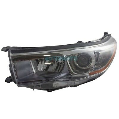 New Left Side Head Lamp Assembly Fits 2014-16 Toyota Highlander To2502225