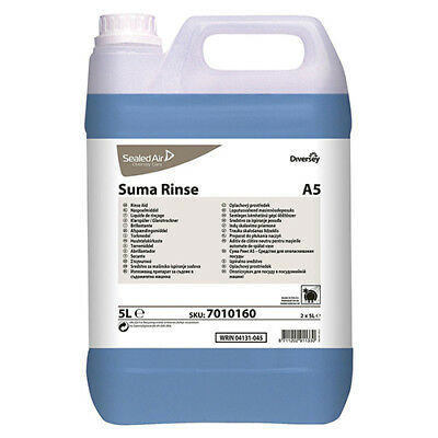 Diversey Suma Rinse A5 (5L) Rinse Aid (Pack of 2) Ref 4027249