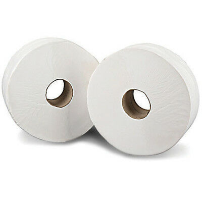 Mini Jumbo White 2 Ply Toilet Roll 150 Metres (Pack of 12) J26150