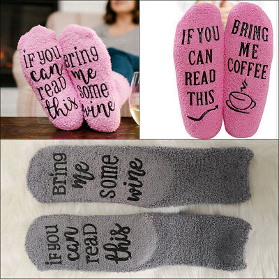 Novelty Socks  IF YOU CAN READ THIS BRING ME SOME WINE Men Women Funny Socks