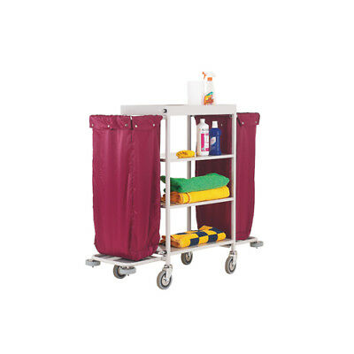 Maid Service Trolley Burgundy Bags 306769
