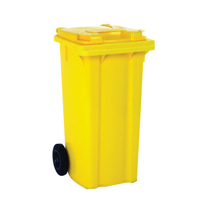 Yellow 2 Wheel Refuse Container 360 Litre 331231