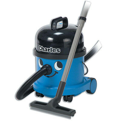 Numatic Charles Vacuum Cleaner Wet & Dry 1060W 15L Dry 9L Wet 9Kg W360xD370xH510