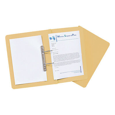 Guildhall Transfer Spring Files Super Heavyweight 420gsm Foolscap Yellow Ref 211