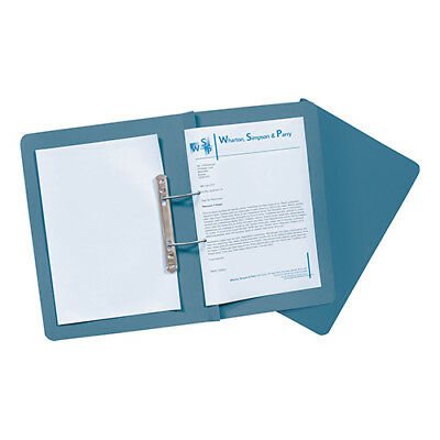 Guildhall Transfer Spring Files Super Heavyweight 420gsm Foolscap Blue Ref 211/7