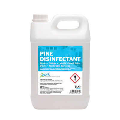 2Work Pine Disinfectant 5 Litre Bottle 2W03986