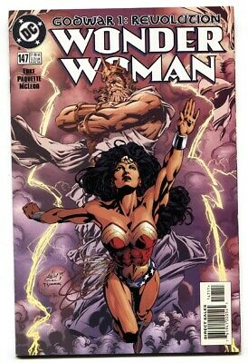 WONDER WOMAN #147 DC comic book Iconic cover-VF/NM
