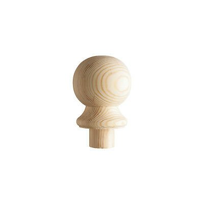 Ball Newel Post Cap - Select Timber and Type