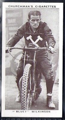 Churchman-Kings Of Speed-#30- Speedway - Bluey Wilkinson