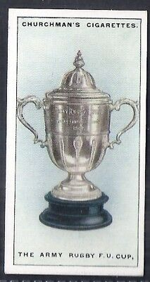 Churchman-Sporting Trophies (Std Size)-#14- Army Rugby Union Cup