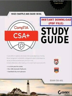 [PDF file] CompTIA CSA+ Study Guide: Exam CS0-001 by Mike Chapple