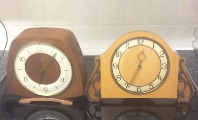 2 Vintage Smiths Clocks 1 With Platform Escapement