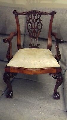 Stunning Salesmans Piece Chippendale style chair.