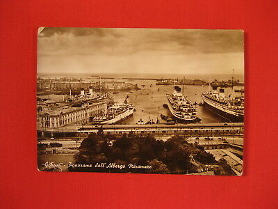 Lot Of 1 Italian Line Vintage Ocean Liner Postcard (Lot 207)