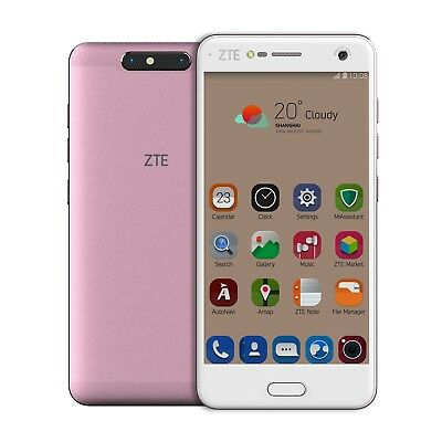 ZTE Blade V8 16GB 4G Android Smartphone with 3D Rear Camera - Pink