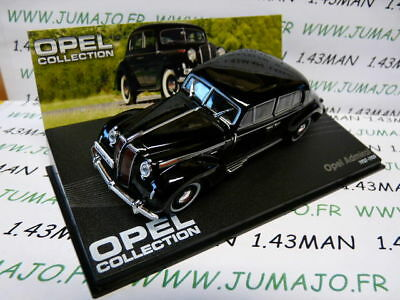 OPE75R voiture 1/43 IXO eagle moss OPEL collection : Admiral noire 1937/1939