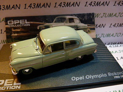OPE25R voiture 1/43 IXO eagle moss OPEL collection : Olympia Rekord 1953/1955