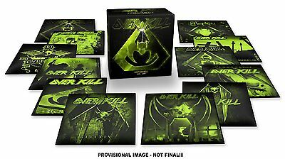 Overkill Historikill 1995-2007 Box set Limited Ed. 14 cd's  cd