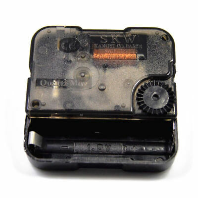 Quartz DIY Clock Movement Mechanism Battery Operated DIY Repair Parts Black