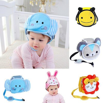 BL_ Baby Toddler Anti-collision Head Protective Safety Helmet for Walking Dreame