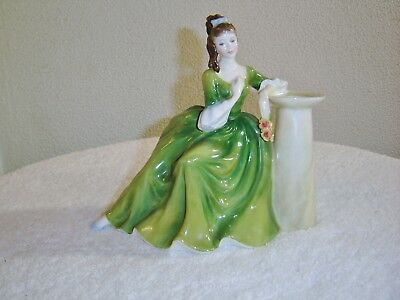"Vintage Royal Doulton •""secret Thoughts""• Hn 2382• Porcelain Figurine 6 3/4"""