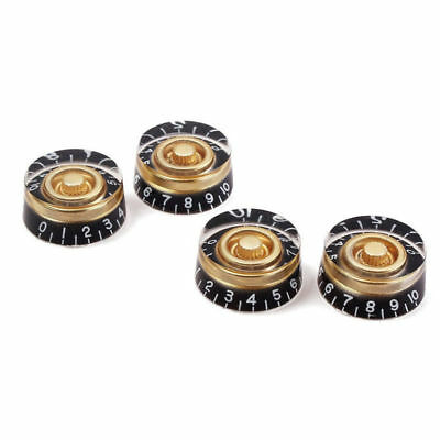 4pc Gold Speed Volume Tone Control Knobs for Gibson Les Paul Electric Guitar