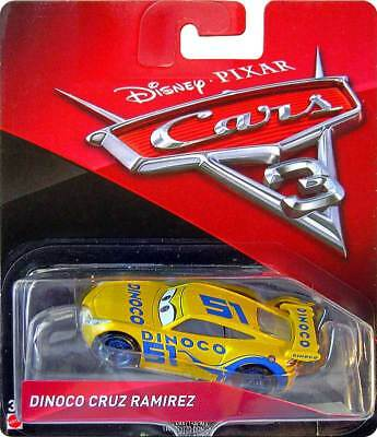 Voiture Disney Pixar Cars 3 Dinoco Cruz Ramirez