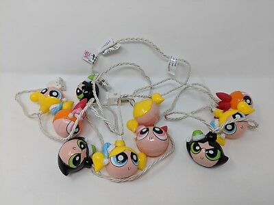 Powerpuff Girls - Christmas Holiday String Light Set - Blossom Bubbles Buttercup