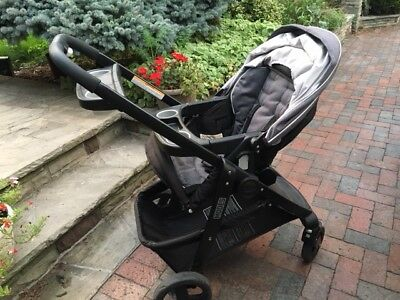 Graco Modes Click Connect Travel System with Infant Car Seat Grayson