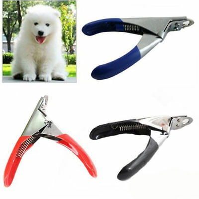 Stainless Steel Dog Cat Pet Nail Toe Claw Clippers Trimmer Scissor Cutter Tool