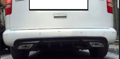 Vw Caddy  Rear  Bumper  Diffuser Trim Spoiler Lower Valance