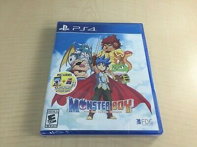 Monster Boy And The Cursed Kingdom (North America) - PS4