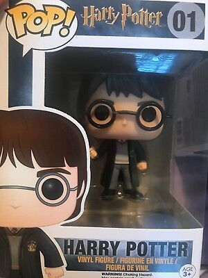 Funko - POP Movies: Harry Potter - Harry Potter Brand New In Box