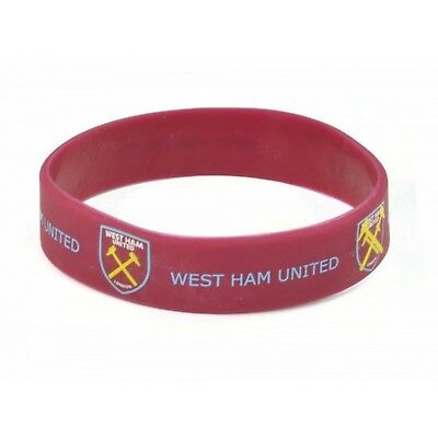 West Ham Silicone Wristband (BS1091)